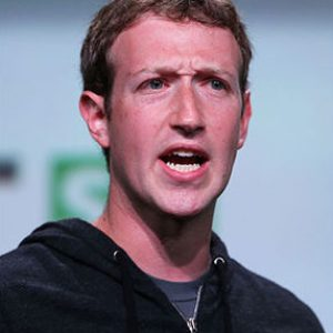 Mark Zuckerberg angry faced